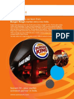 How Companies Can Learn From Burger King's Market Entry Into India