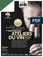 Programme et Bulletin Ateliers Du Vin 2015