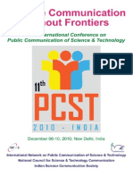 Decision Making in S&T Communication; Paper Ldkala PCST-2010-Proceedings