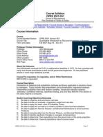 UT Dallas Syllabus for opre6301.0g1.07f taught by John Wiorkowski (wiorkow)
