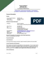 UT Dallas Syllabus for aim6351.0g1.07f taught by Arthur Agulnek (axa022000)