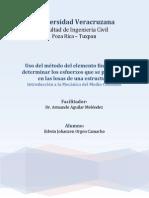 Reporte Sobre El Análisis de Losa Mediante Esfuerzos