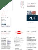 Campaign Brochure Republican