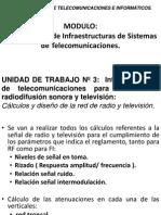 Unidad Diáctica 3 Calculos y Diseno de La Red de Radio
