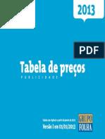 Publicidade Folha - Info Técnicas e Outras