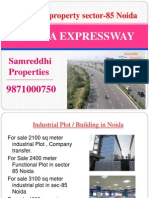 For sale 2100 sq meter industrial Plot sec-85 Noida 9871000750