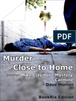 Dave Horton Murder Close to Home