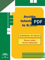 Programa anual de tutoría 3º ESO - Tercer trimestre