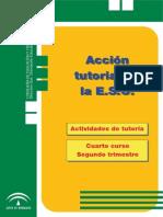 Programa anual de tutoría 4º ESO - Segundo trimestre
