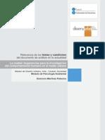 Análisis de La Lectura - La Escuela de Chicago y La Ciudad de Hoy - Emerson Martínez Palacios