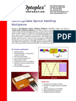 Optical Add Drop Multiplexer