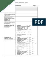Formulario de Diagnostico