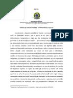 Termo de Conhecimento ENADE 2014-1