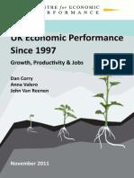 UK Economic Performance Since 1997