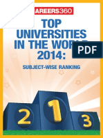 Top Universities in the World 2014