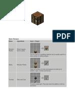 Resep Crafting minecraft.docx