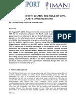 IMF PROGRAM WITH GHANA