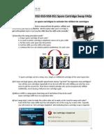 HP 932 933 950 951 Spare Cartridge Swap FAQs v4