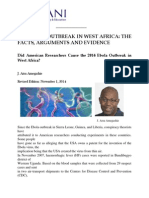 2014 Ebola Outbreak in West Africa