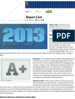 2013's Forecasting Report Card | Stratfor