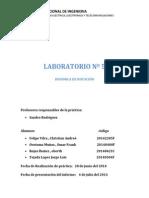 Laboratorio 5 FISICA I
