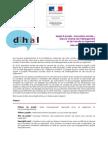 Dihal - Appel à projets « Innovation sociale » dans le champ de l'hébergement et de l'accès au logement - Liste des projets retenus