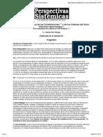 Psicoterapia Sistémica de las Constelaciones (1) y de los Ordenes del Amor - Entrevista a Bert Hellinger - Con la participación y edición de Tiuu Bolzman