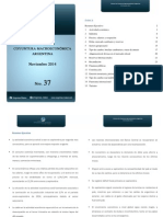 Informe de Coyuntura Argentina N°37