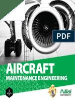 Diploma in aircraft maintenance brochure