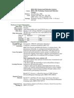 UT Dallas Syllabus for biol3301.081.07u taught by Irina Borovkov (ixb053000)