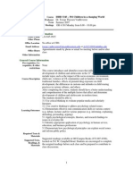 UT Dallas Syllabus for ishd3343.521.07u taught by Jacoba Vanbeveren (jtv013100)