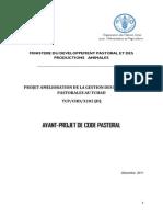 PROJET AMELIORATION DE LA GESTION DES RESSOURCES PASTORALES AU TCHAD (TCP/CHD/3202) (D)