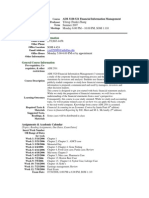 UT Dallas Syllabus for aim3320.521.07u taught by Yifeng Zhang (yxz029000)