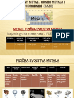 Metali Ogledni Cas