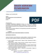 Proyecto Mantenimiento de Aires Los Corazones