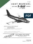 F-86F Flight Manual + performance data.
