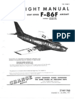 F-86F Flight Manual + performance data.