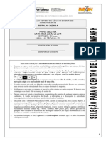 IMPARH - Selecao Centro de Linguas 2014.2 - Prova Objetiva