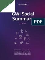 GWI Social Summary Q3 2014