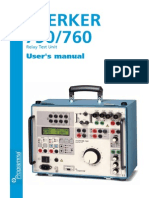 Sverker 750/760 User's Manual