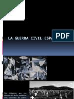 Guerra Civil Española  del siglo XX