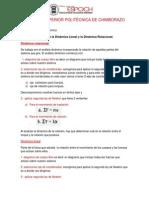 Relación Entre Dinámica Lineal y Rotacional