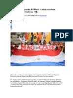 Contas de Campanha de Dilma e Aécio Recebem Tratamento Diferente No TSE