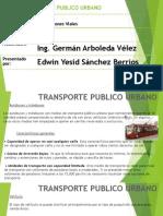 Transporte Publico Urbano Molinero