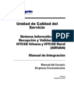 Manual Sirvan Integracion