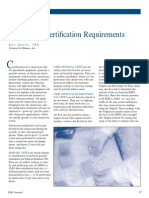 Cleanroom Certification Requirements