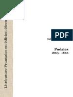 Sully Prudhomme Poesies 18651866