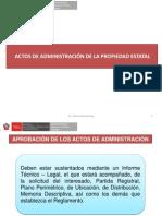 Actos de Administración de La Propiedad Estatal