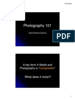 Photography 101 - For Sanay Guro