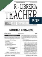 Ley de Reforma Magisterial 29944